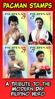 Manny Pacquiao Stamp